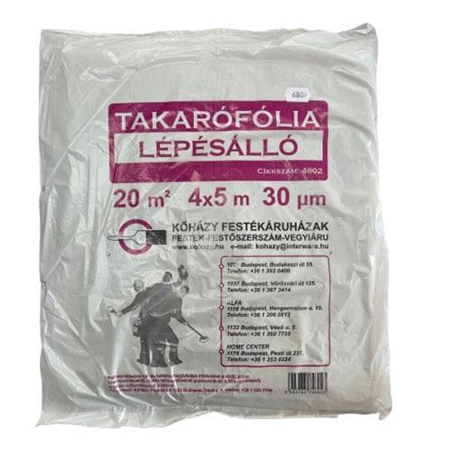 Lépésálló Takarófólia - 20nm (4x5m) 1
