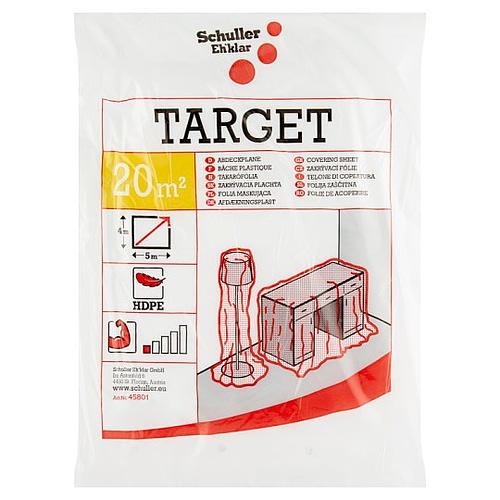 Schuller Eh'klar Target S4 4x5m takarófólia HDPE átlátszó 1