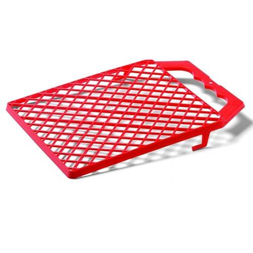 Csepegtetőrács piros műanyag